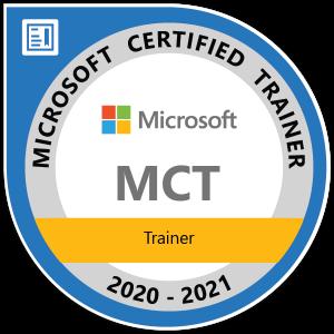 Microsoft 認定トレーナー