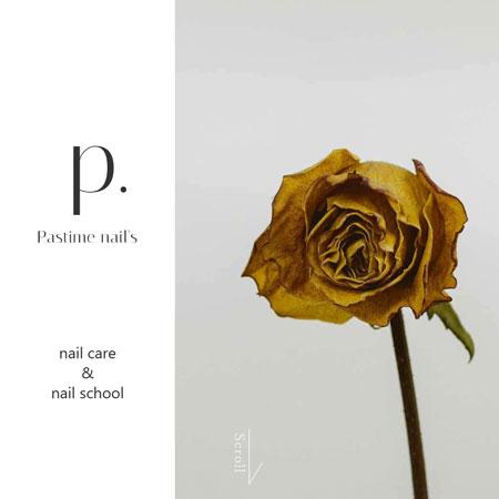 Pastime nail's様のサイトイメージ